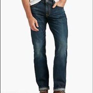 Lucky Brand 221 Original Straight Dark Wash Jean